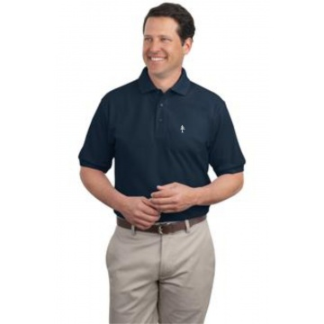 Adult Cotton Polo Navy